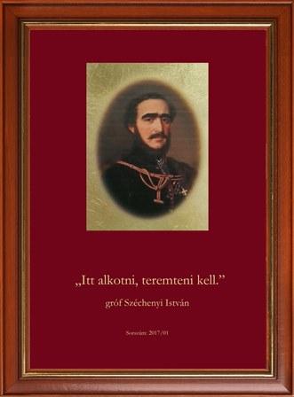 gróf Széchenyi István  sorszámozott kép